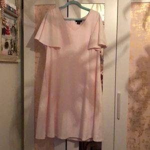 Liz Claiborne blush pink women dress